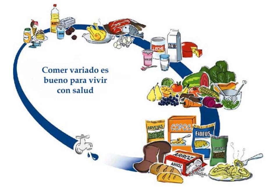 Piramides y Ovalo Nutricional, y la nutricion - Apuntes y ...