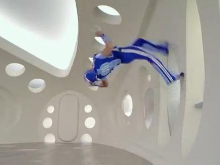 lazytown sportacus wallflip