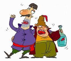 El alcoholismo y el humor