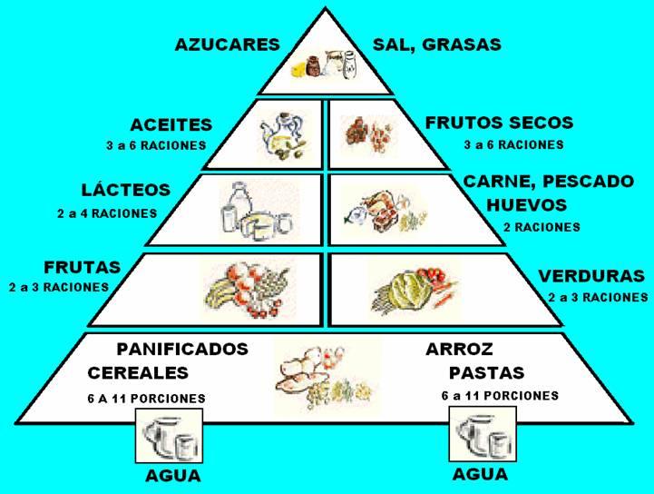 Pirámide y Óvalo nutricional | Doble Karma